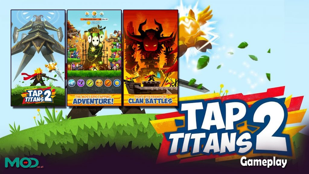 Gameplay tap titans 2