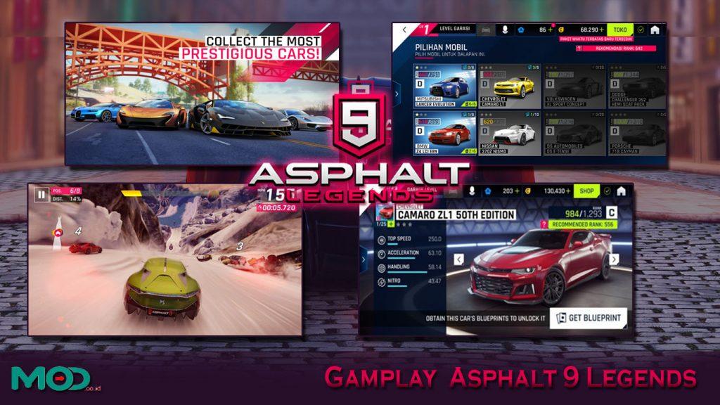 Gamplay Asphalt 9 Legends