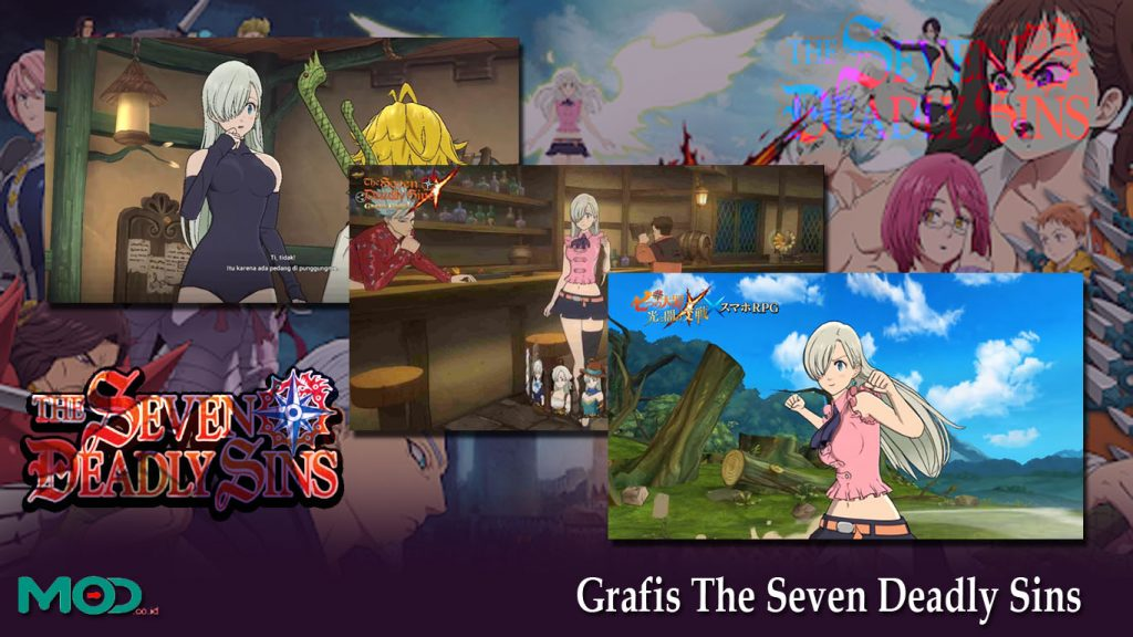 Grafis The Seven Deadly Sins
