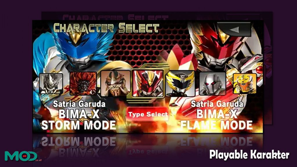 Playable Karakter bima x