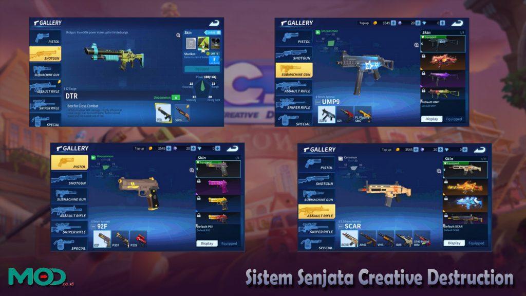 Sistem Senjata Creative Destruction