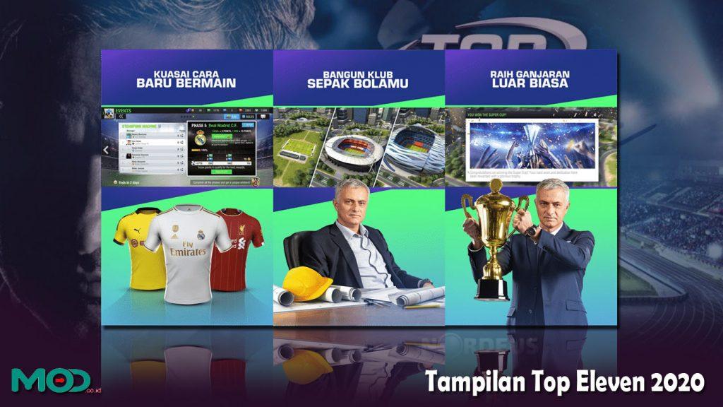 Tampilan Top Eleven 2020